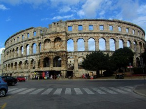Pula - The Roman Amphitheater