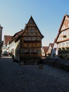 Rothenburg - historical center