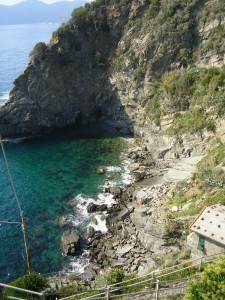 Corniglia - The Marina